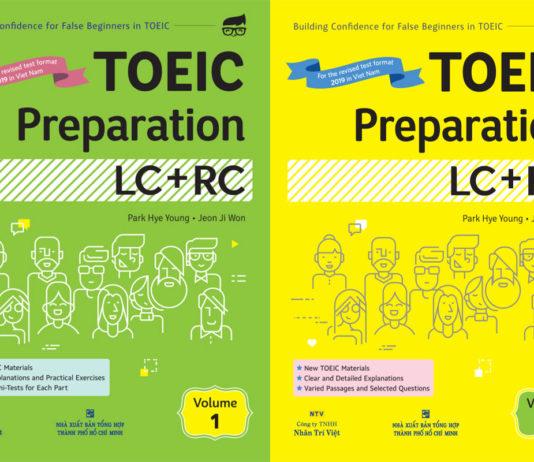 TOEIC Preparation LC + RC Volume 1, 2